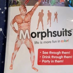 Adult muscle Morphsuit